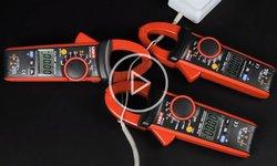 Відеоогляди струмовимірювальних кліщів UNI-T