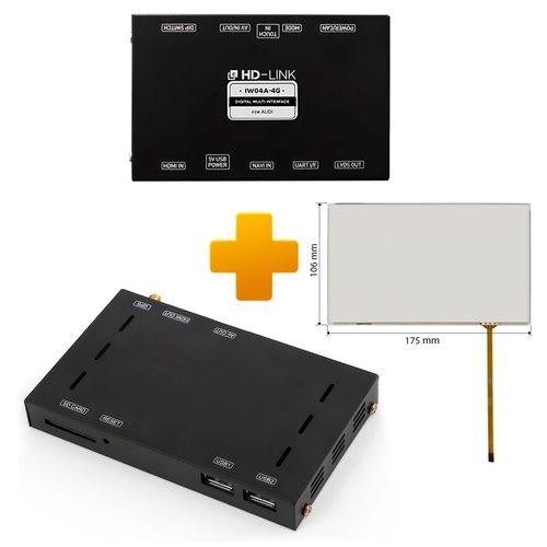 Навигационно-мультимедийный комплект для Audi MMI Touch на базе CS9500H