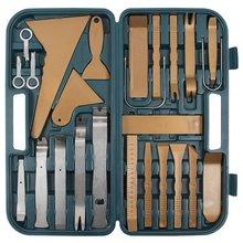 Juego de herramientas para tapicería 36 uds.  - Descripción breve