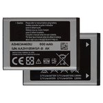Battery AB463446BU compatible with Samsung E250, (Li-ion, 3.7 V, 800 mAh)