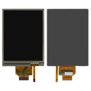 LCD for Nikon AW100, S4150, S6150 Digital Cameras, (with touchscreen, with light, with frame)