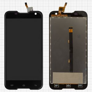 LCD Blackview BV5000, (black, with touchscreen)