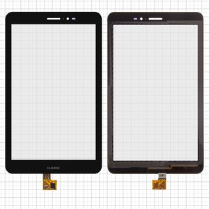 Touchscreen for Huawei MediaPad T1 8.0 (S8-701u), MediaPad T1 8.0 LTE T1-821L Tablets, (black) #HMCF-080-1607-V5