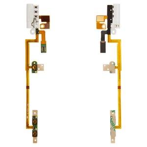 Cable flex para reproductor MP3 Apple iPod Nano 6G, del conector de auriculares, del botón de volumen, del botón de encendido, con componentes, blanco