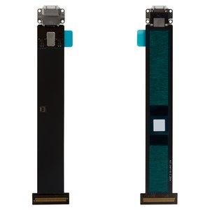 Cable flex para tablet PC Apple iPad Pro 12.9,  del conector de carga, con componentes, blanco