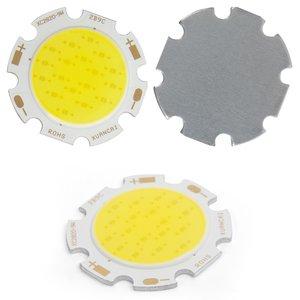 COB LED модуль 9 Вт (холодный белый, 850 лм, 28 мм, 300 мА, 27-30 В)