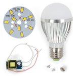 Комплект для сборки светодиодной лампы SQ-Q02 5730 5 Вт (теплый белый, E27)
