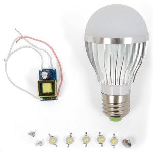 Комплект для збирання світлодіодної лампи SQ-Q02 5 Вт (природний білий, E27)