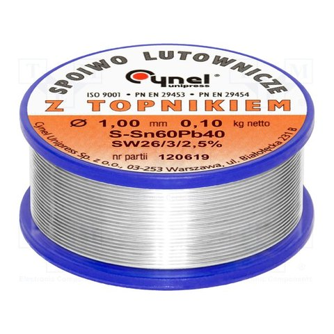 Припій Cynel LC60 1.00 0.1