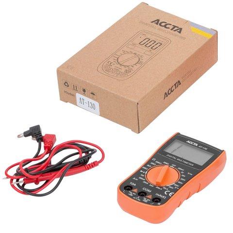 Цифровий мультиметр Accta AT 130