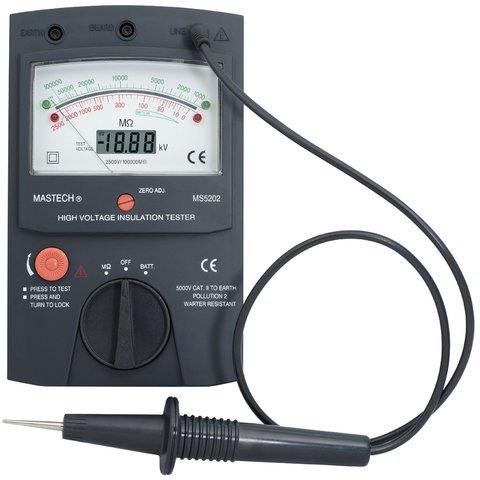 Digital Analogue Insulation Tester MASTECH MS5202