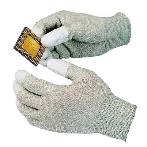 Goot WG 4M Series anti static gloves with polyurethane resin coating on the fingertip