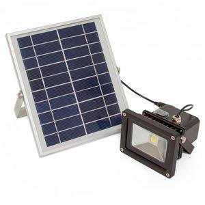 Уличный LED прожектор SL-310 (с солнечной панелью, 1000 лм, 4400 мАч, 6000-6500 K, холодный белый)